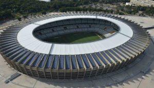 Energia fotovoltaica estádio do Mineirão
